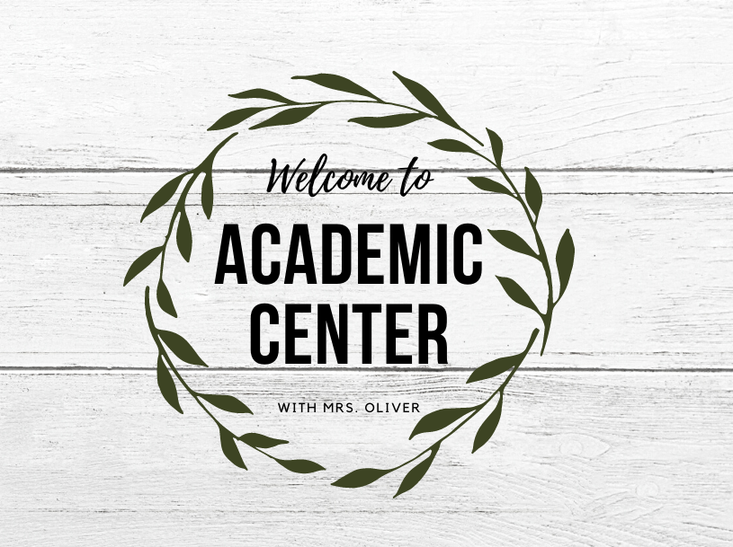 Academic Center Page