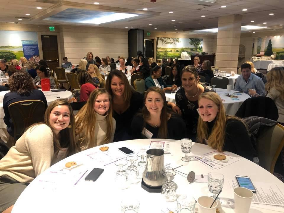 MRHS students at Enterprising Women conference