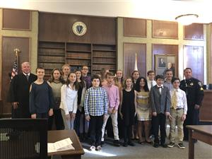 MRMS students participate in Mock Trial experience